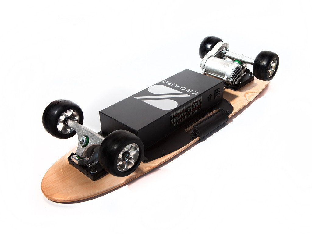 zboard classic electric skateboard review 2